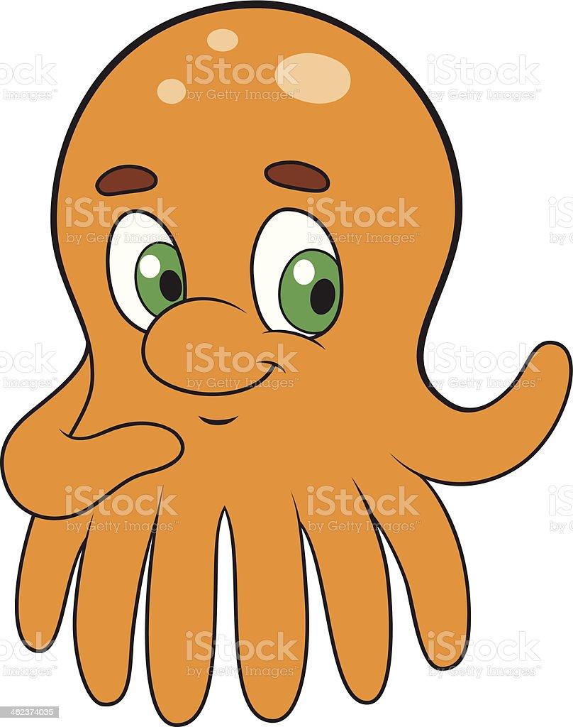 Octopus vector art illustration