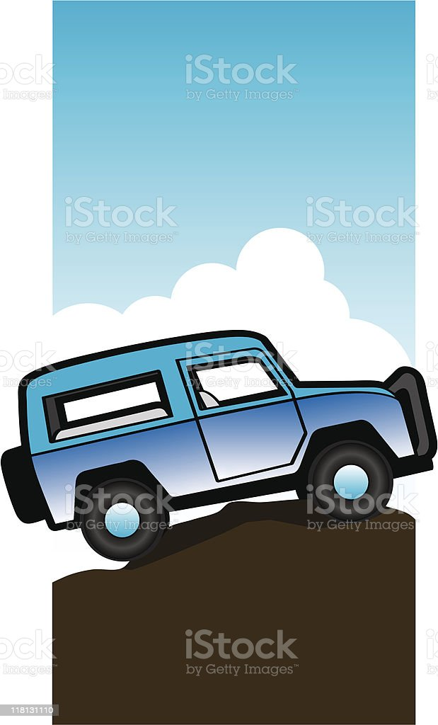 Off Road royalty-free stock vector art