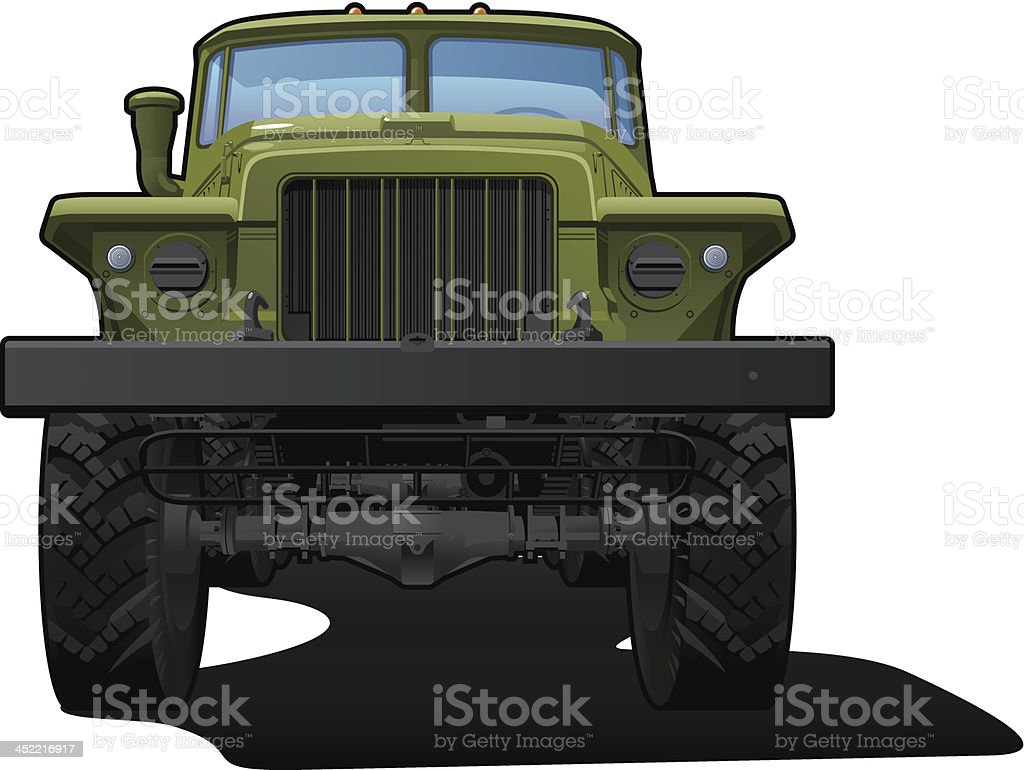 off-highway truck royalty-free stock vector art