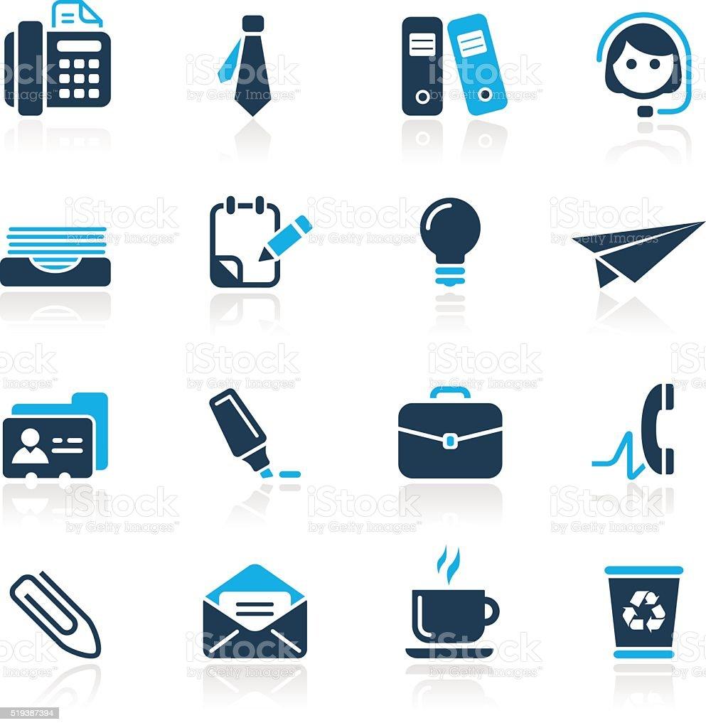 Office & Business // Azure Series vector art illustration