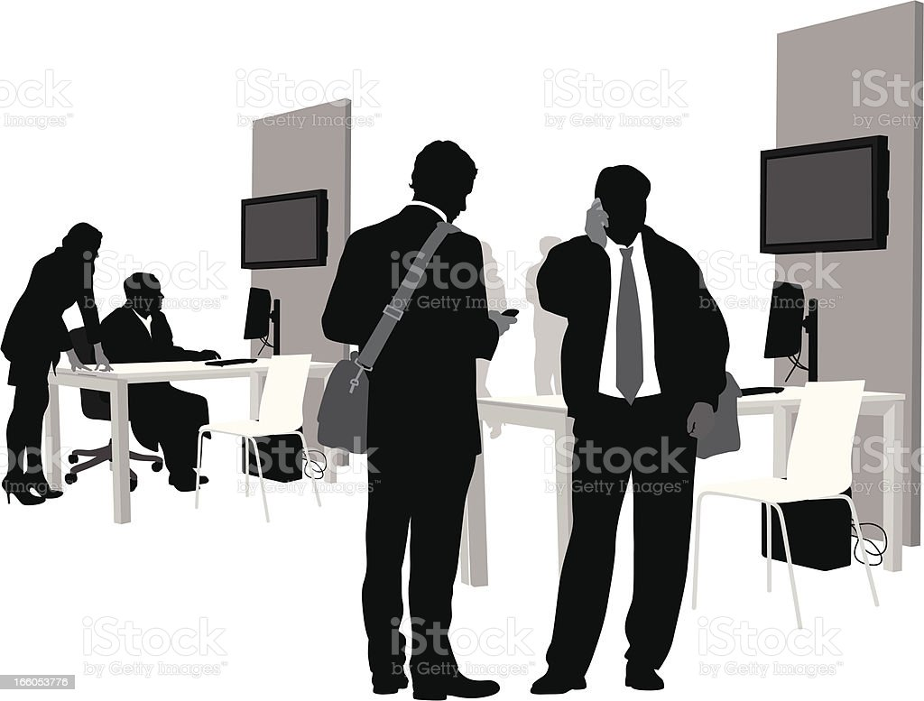 Office Celluse royalty-free stock vector art