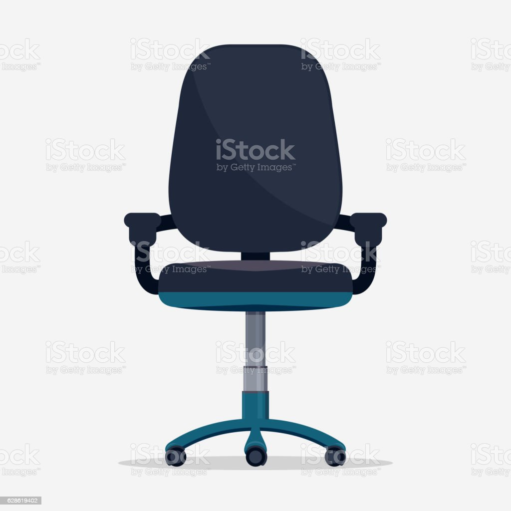 office chair vector vector art illustration