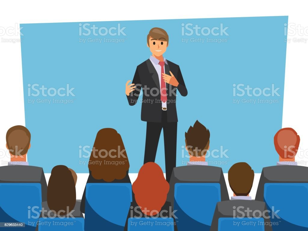 Office desk for team planning and working ,Vector illustration cartoon character. vector art illustration