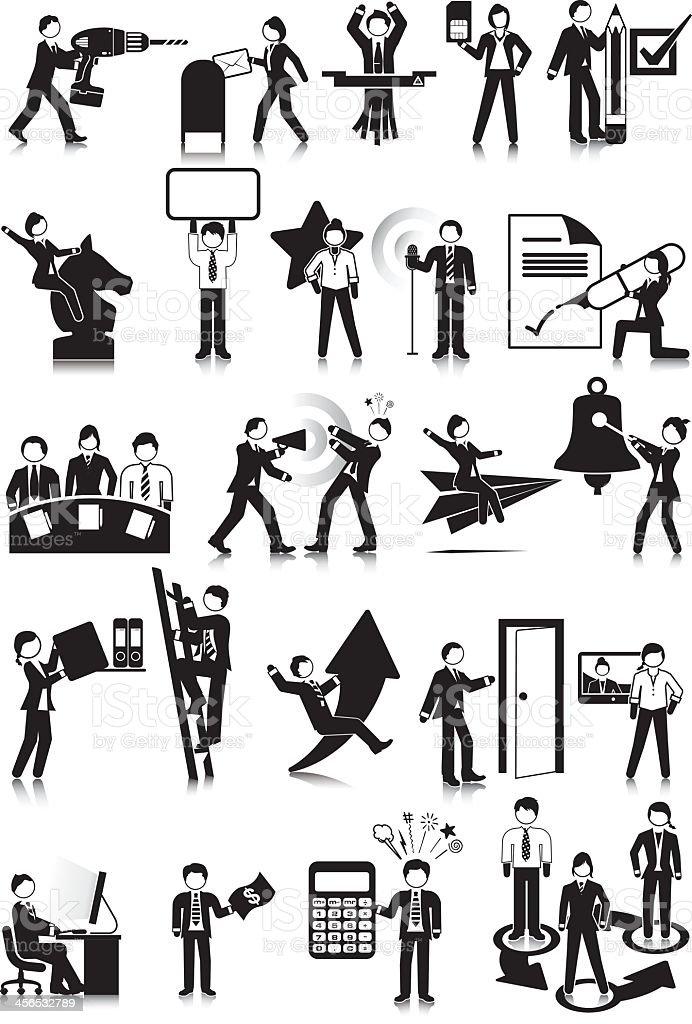 Office Info royalty-free stock vector art