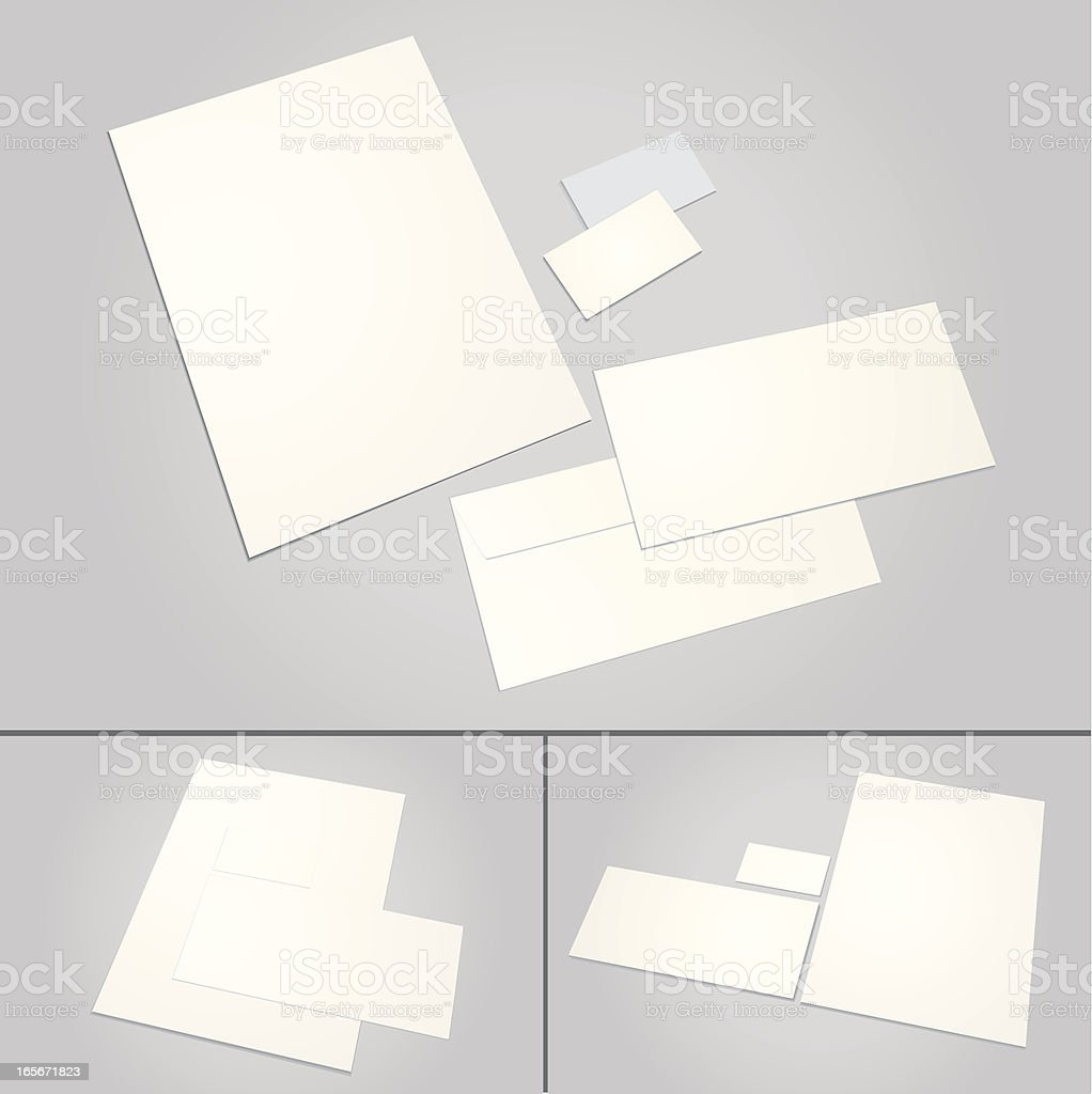 office stationery royalty-free stock vector art