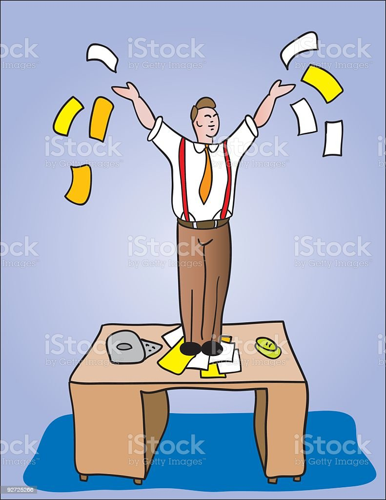 office success royalty-free stock vector art