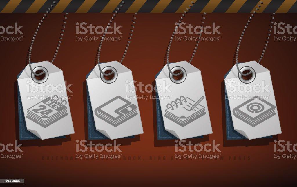Office Supply vector art illustration