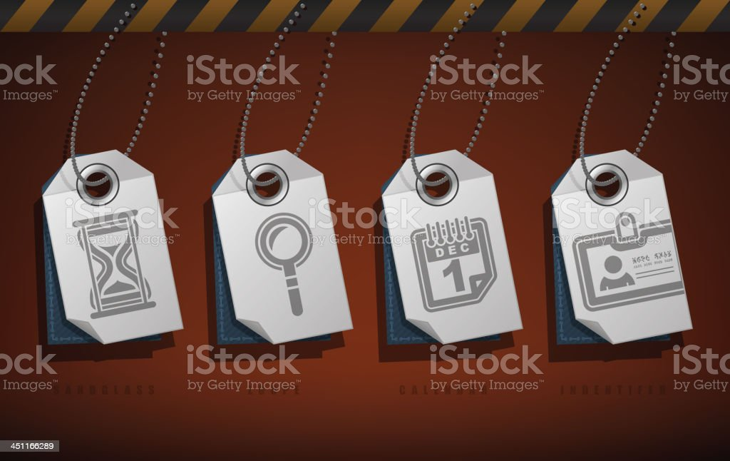 Office Supply royalty-free stock vector art