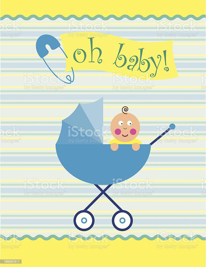 Oh Baby! royalty-free stock vector art
