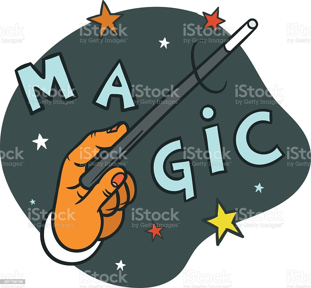 Oh Oh Oh  It's Magic vector art illustration