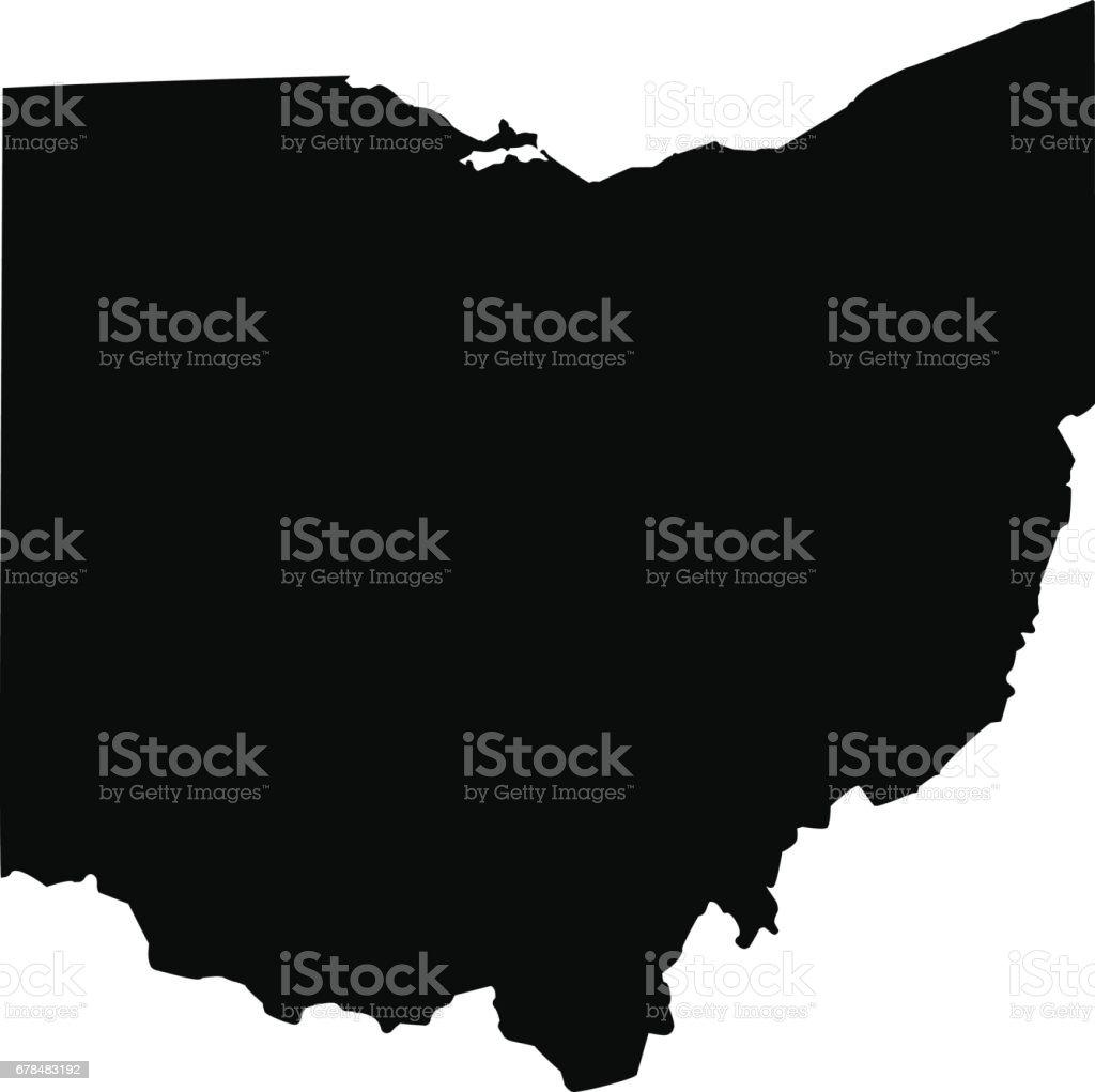Ohio Labeled Map Ohio State Maps USA Maps Of Ohio OH The Myth Of - Ohio in usa map