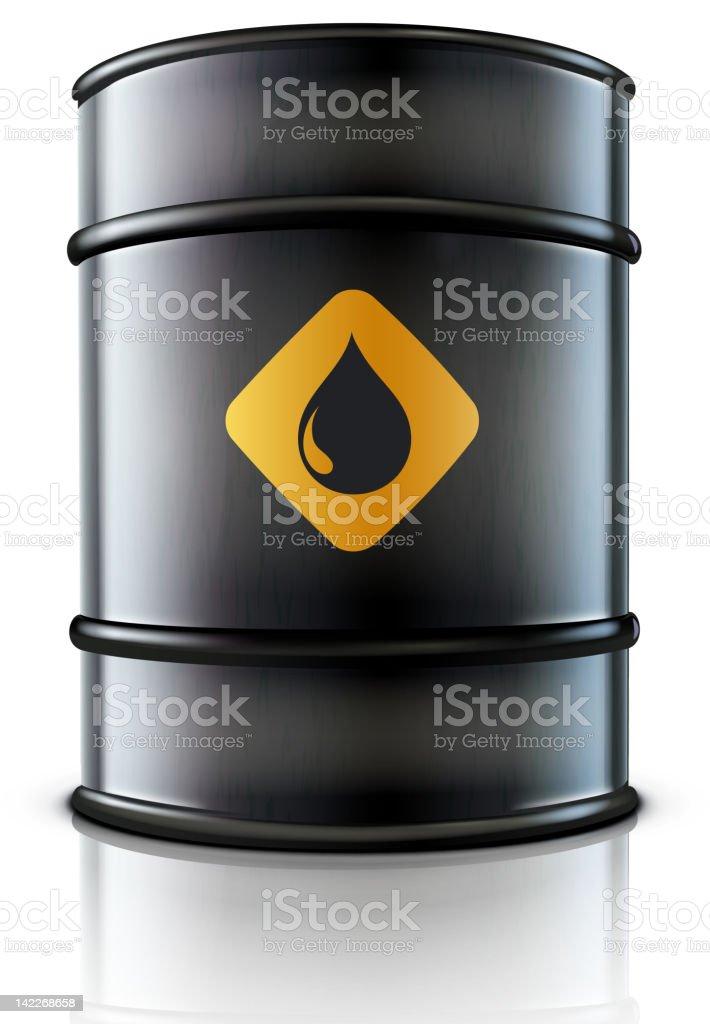 oil barrel royalty-free stock vector art