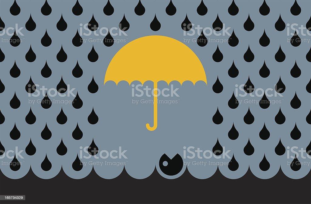 oil disaster royalty-free stock vector art