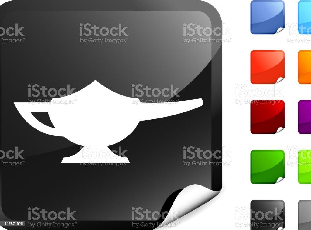 oil lamp internet royalty free vector art royalty-free stock vector art