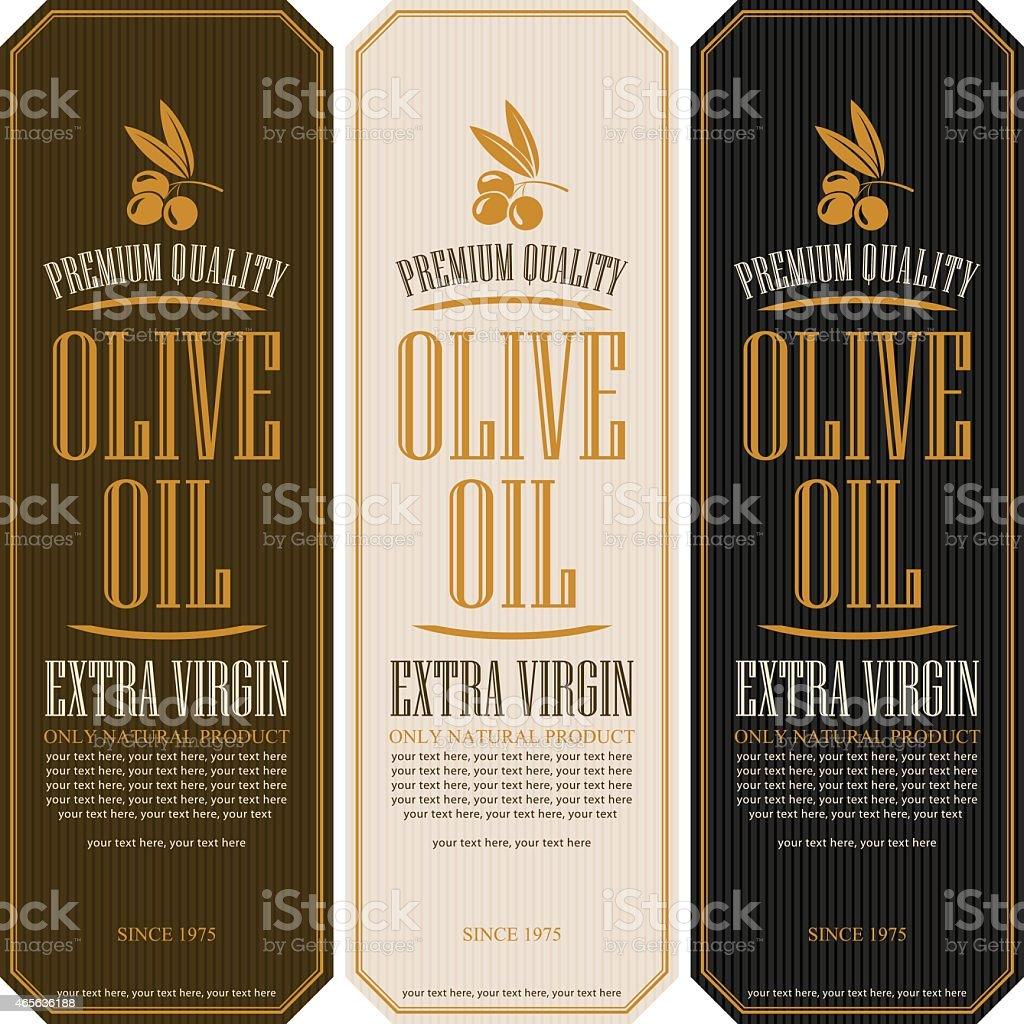 Oil olive vector art illustration