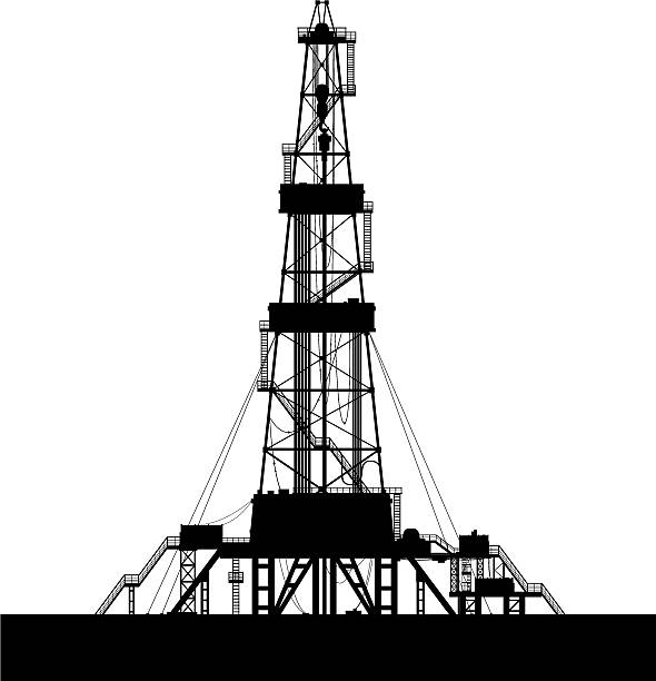Offshore Platform Clip Art, Vector Images & Illustrations
