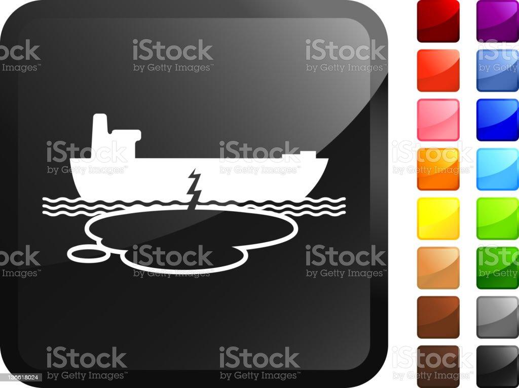 oil tanker accident internet royalty free vector art vector art illustration