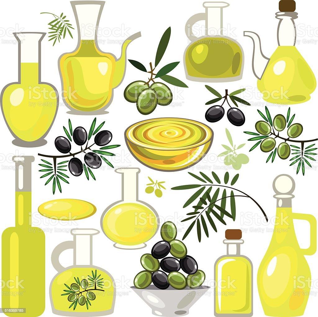 Oil vector art illustration