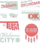 Oklahoma Typography