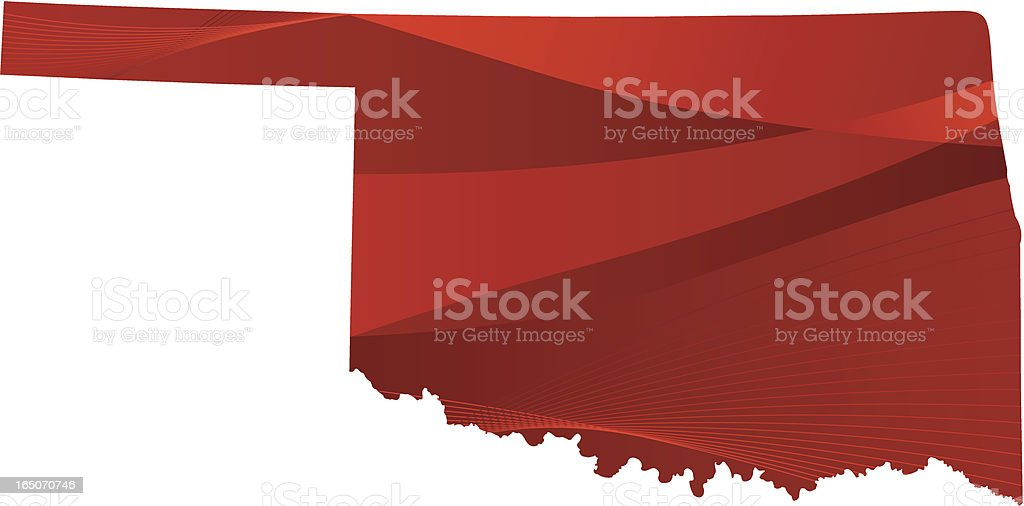 Oklahoma royalty-free stock vector art