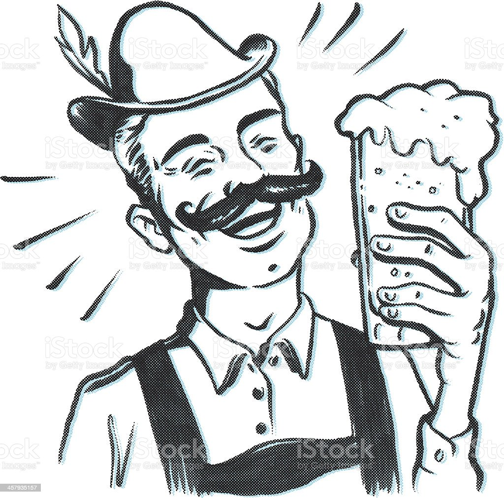 OktoberFest Beer royalty-free stock vector art