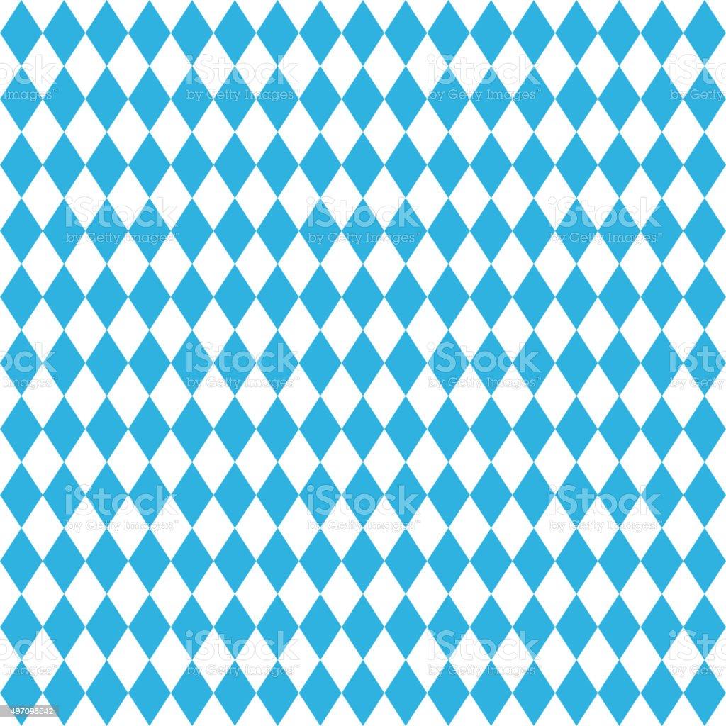 Oktoberfest blue background vector art illustration
