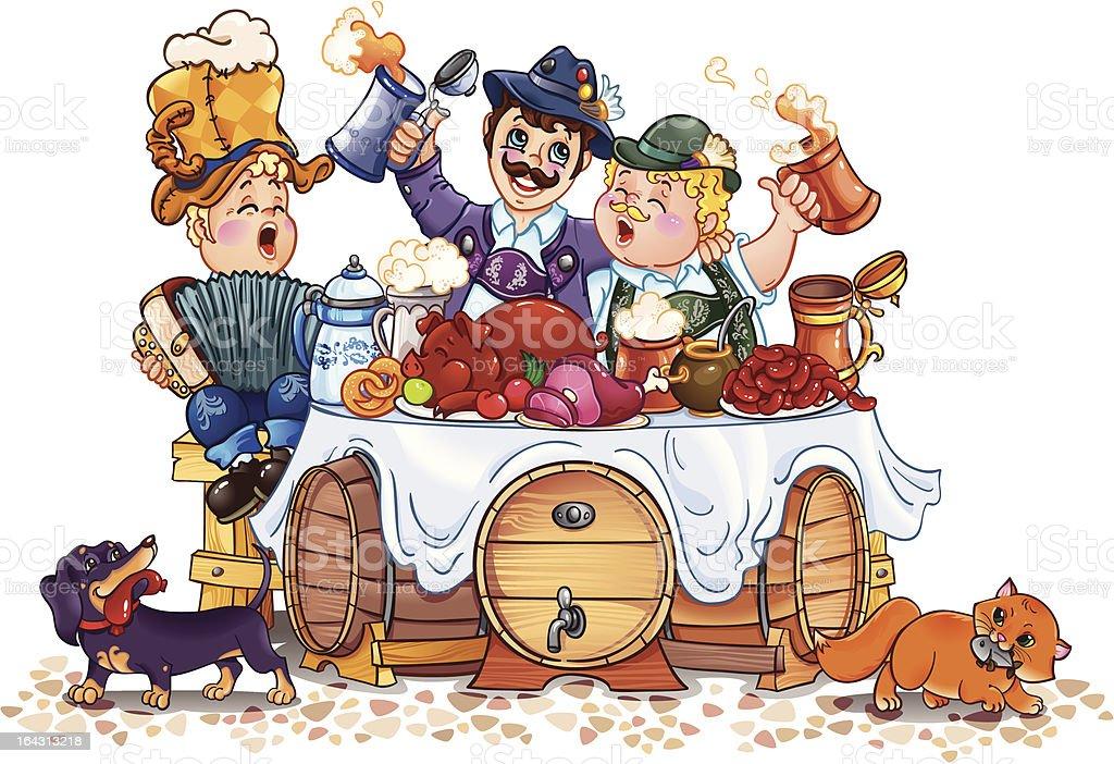Oktoberfest festival royalty-free stock vector art