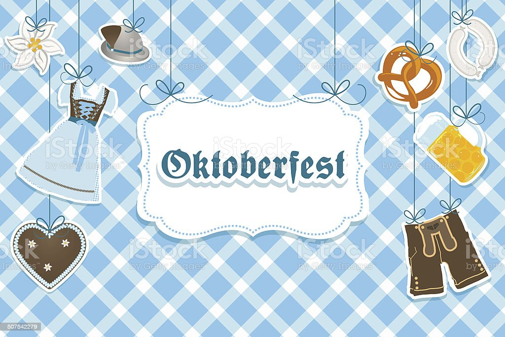 Oktoberfest vector art illustration
