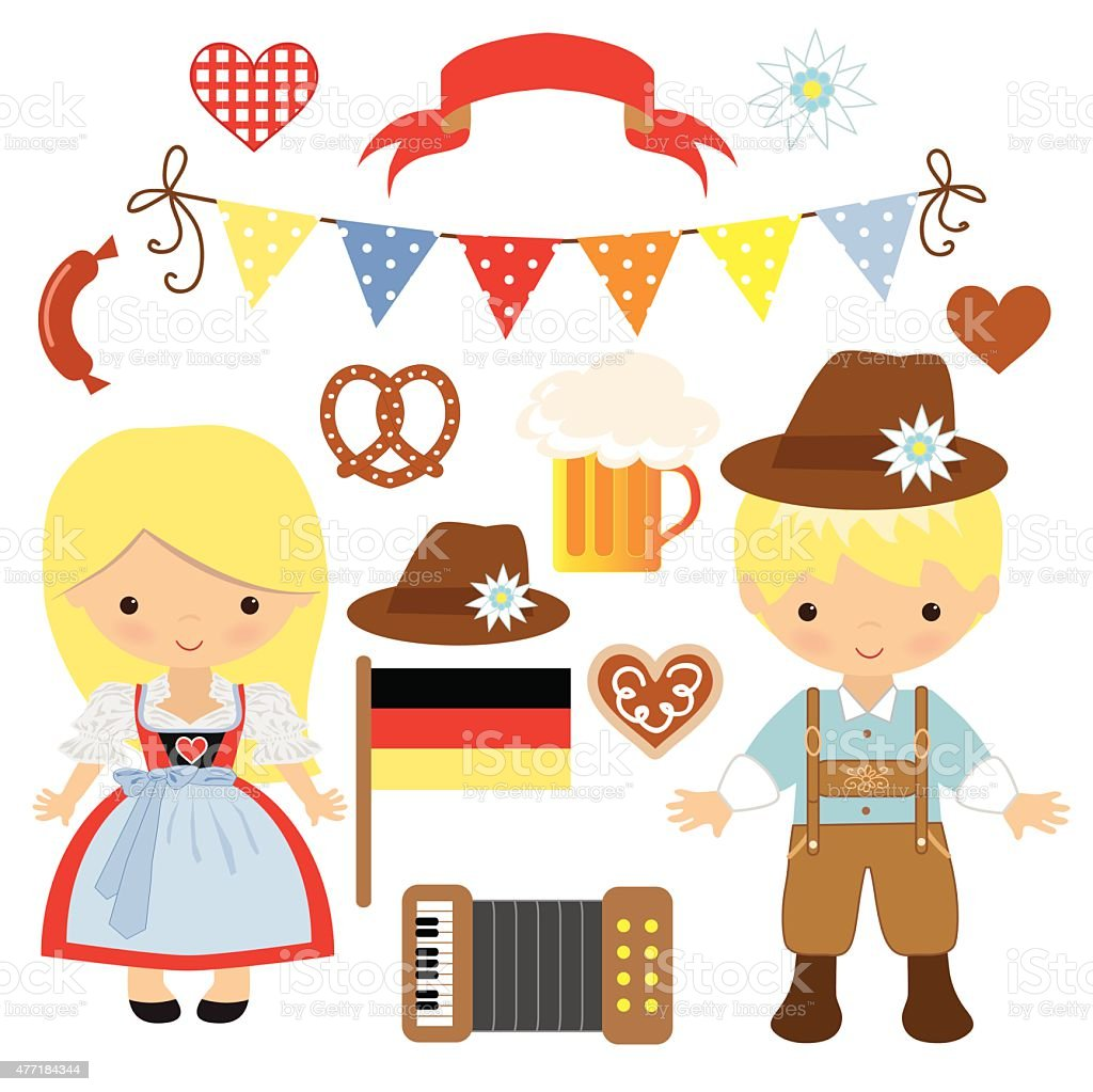 Oktoberfest vector illustration vector art illustration