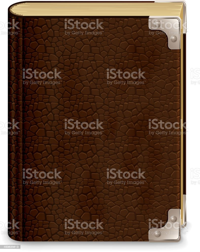 Old book royalty-free stock vector art