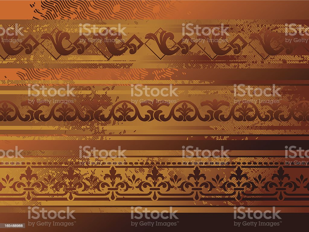 diseño antiguo royalty-free stock vector art