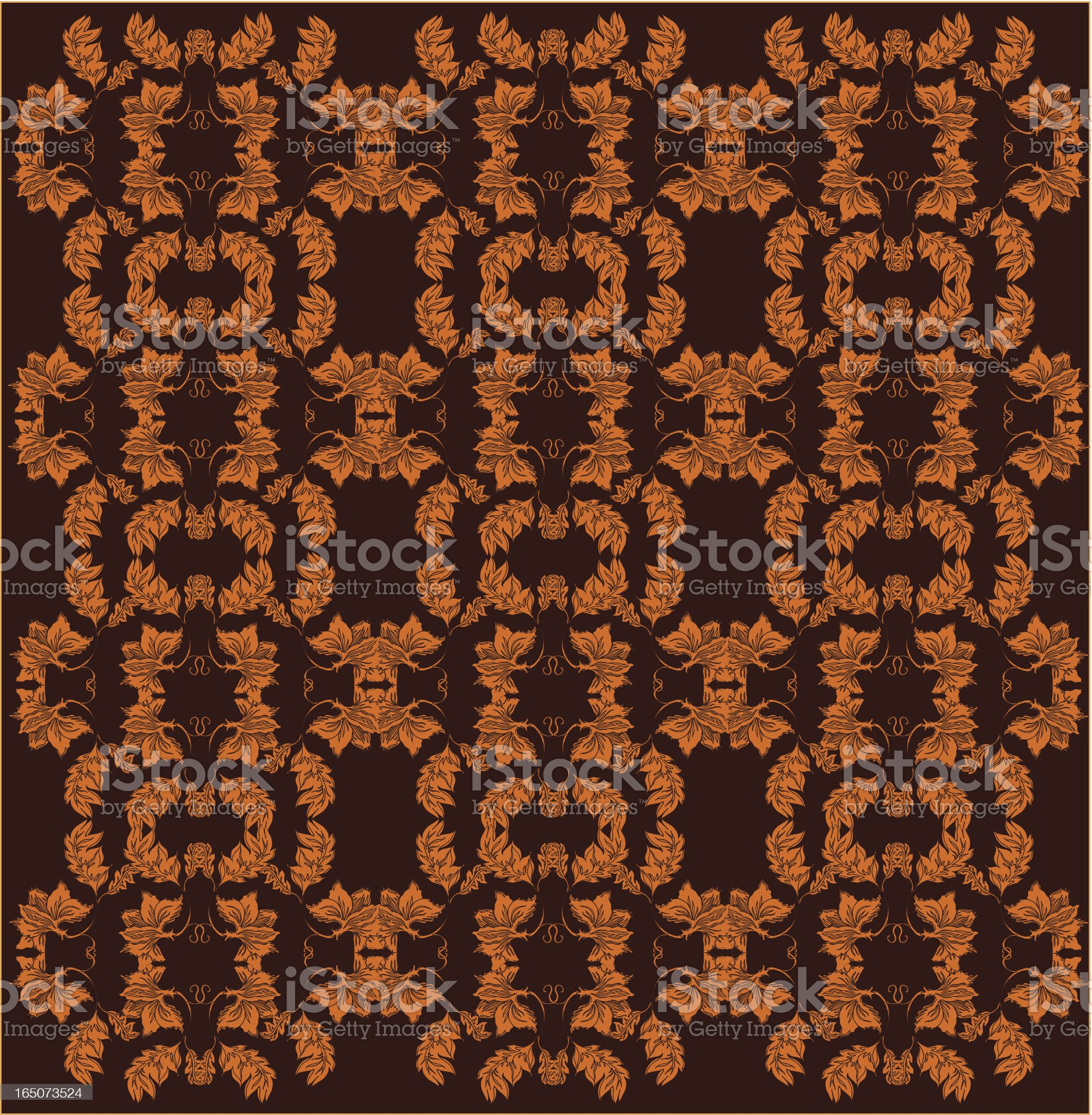 old fashioned wallpaper royalty-free stock vector art