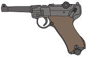 old handgun