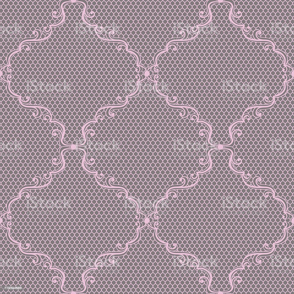 Old lace background, ornamental flowers. Vector texture. royalty-free stock vector art