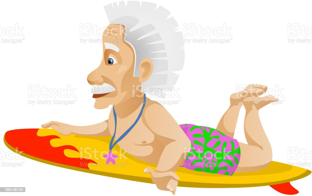 Old Man royalty-free stock vector art