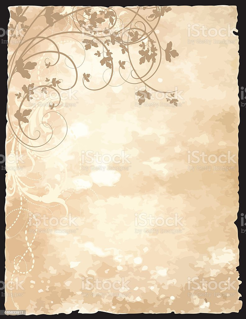 Old Page Background royalty-free stock vector art