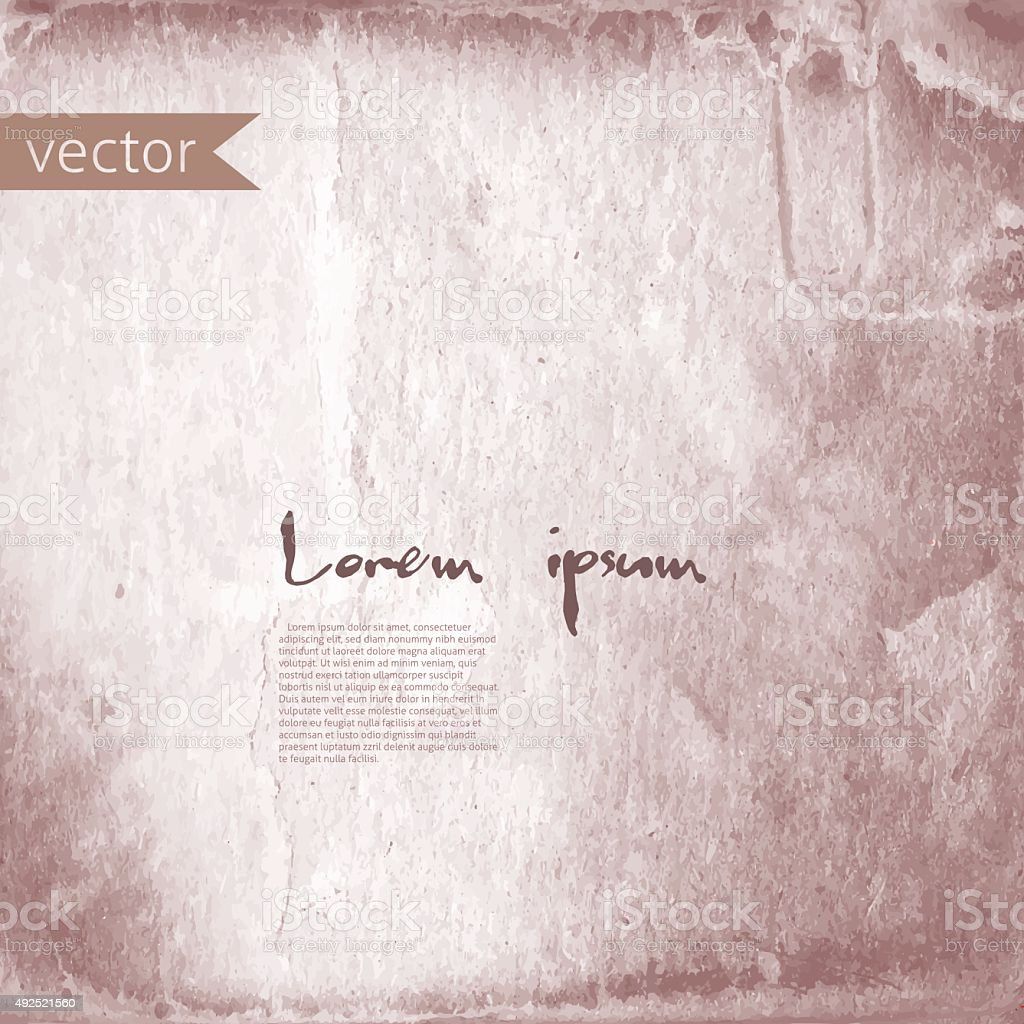 old paper background for text vector art illustration