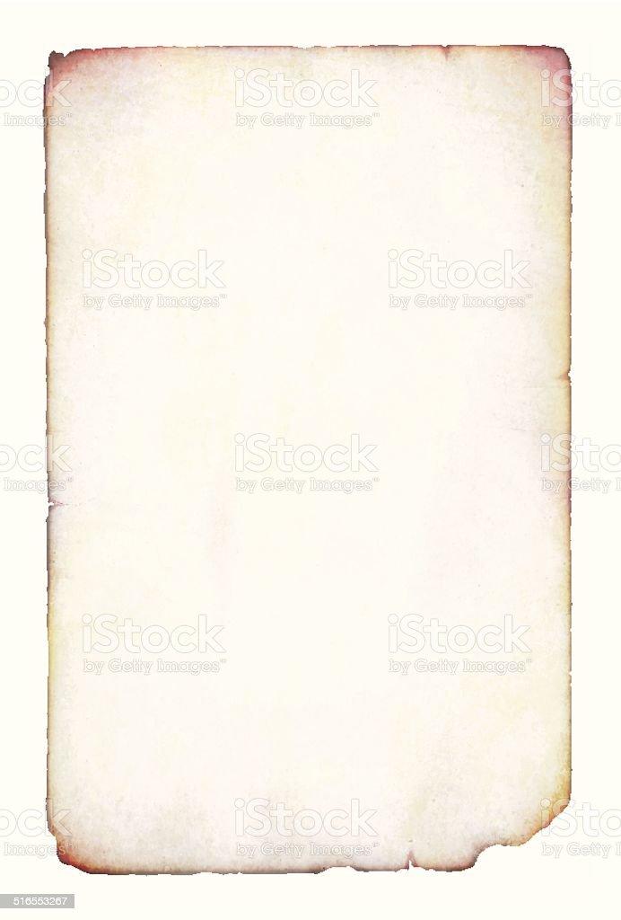 Old paper vector art illustration
