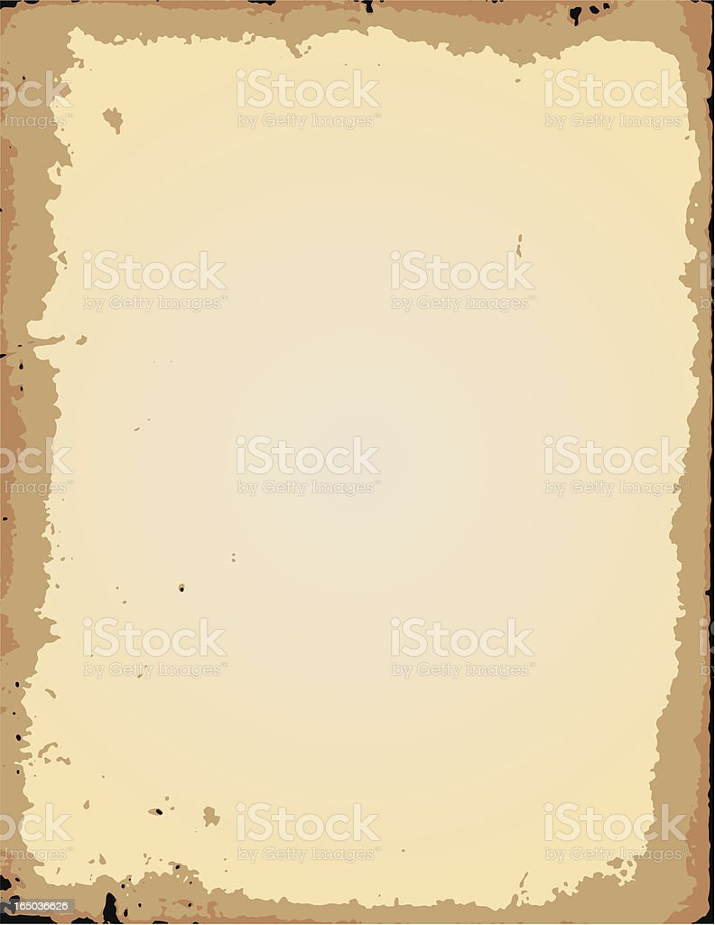 Old Paper - Vector royalty-free stock vector art