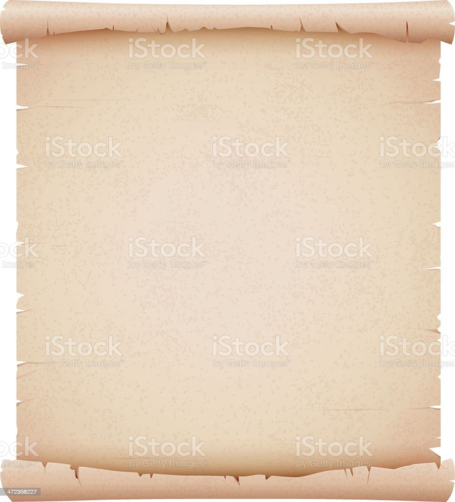 Old Parchment royalty-free stock vector art