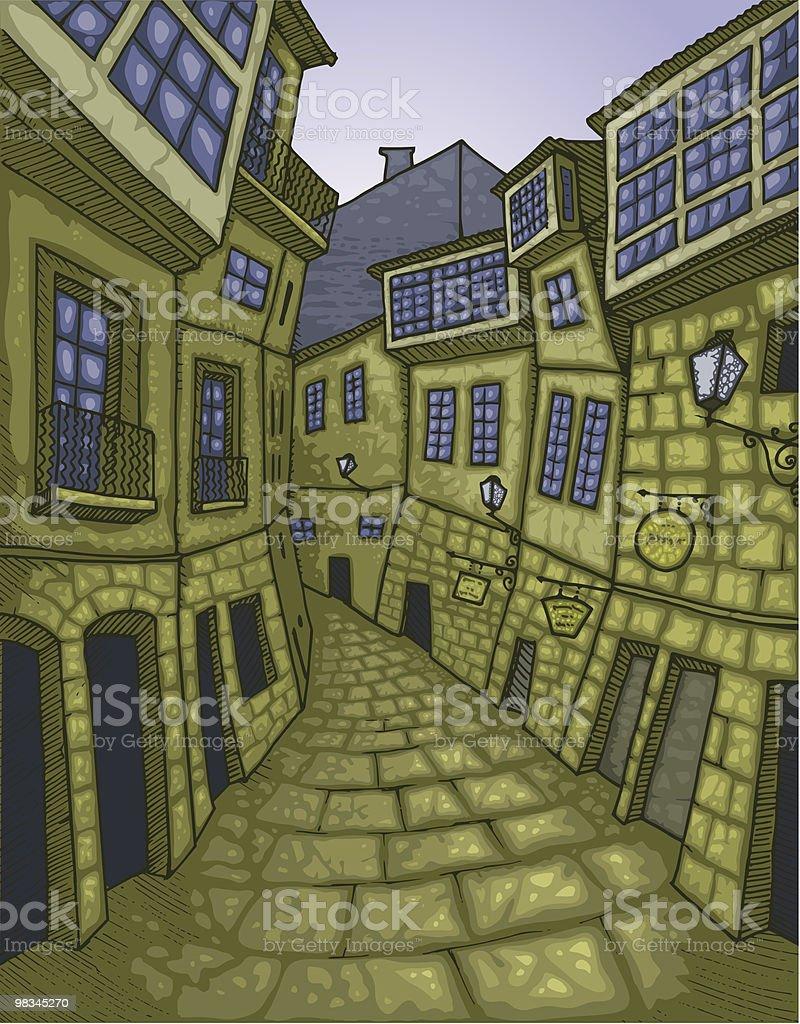 Old Street royalty-free stock vector art