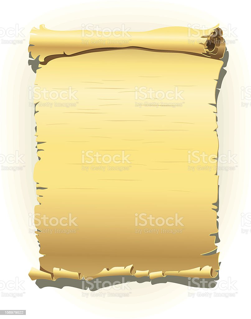 Old style banner royalty-free stock vector art