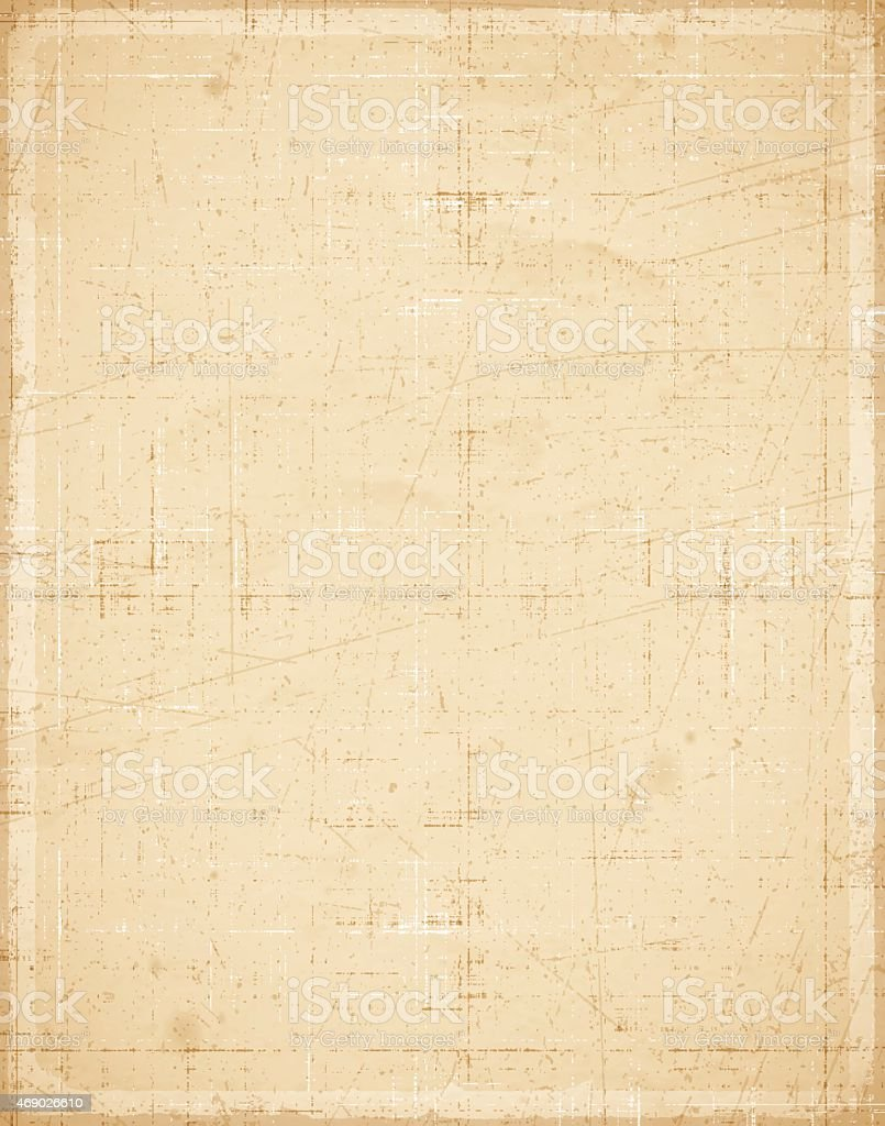 Old Textured Paper vector art illustration