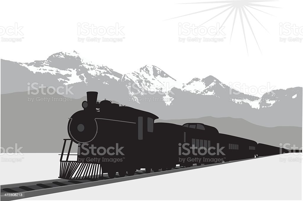 Old Times royalty-free stock vector art
