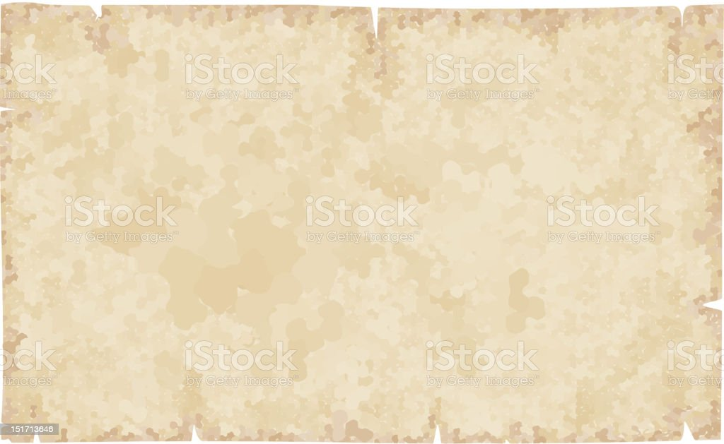 Old vintage paper texture or background vector art illustration