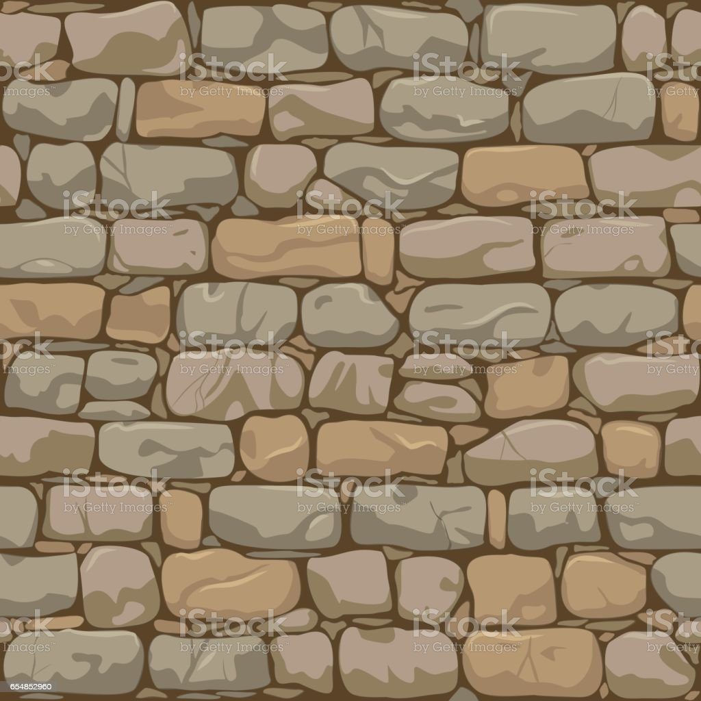 Old wall background vector art illustration