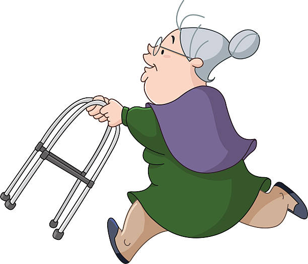 Mobility Walker Clip Art, Vector Images & Illustrations ...