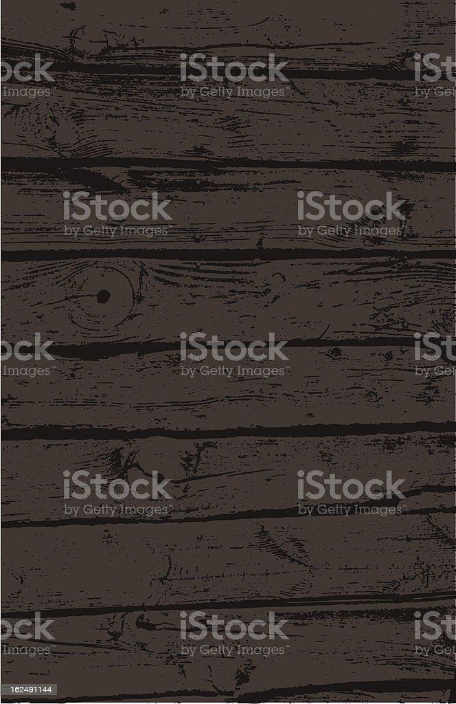 Old Wood Grain vector art illustration