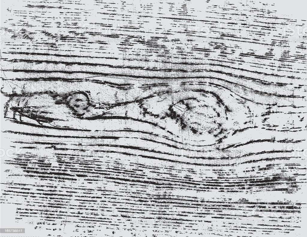 oldy moldy wood vector art illustration
