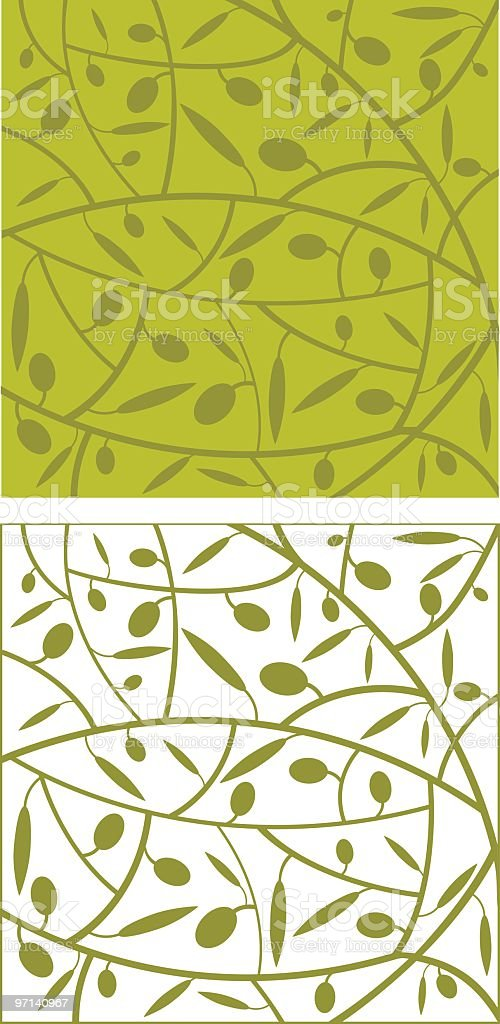 Olive Background royalty-free stock vector art
